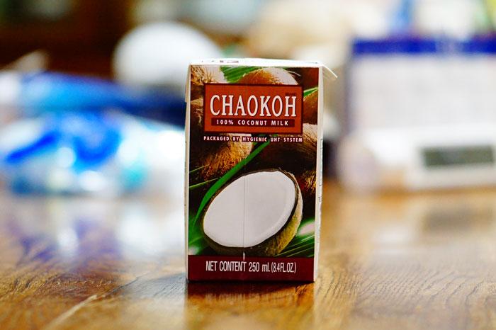 ココナッツミルクCHAOKOH(チャオコー)