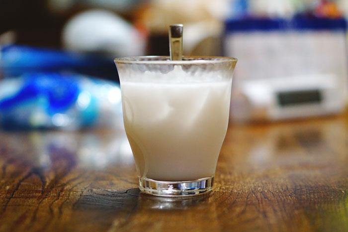ココナッツミルクジュースの作り方(分量)